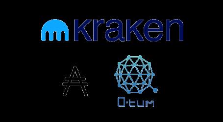 Crypto exchange Kraken lists Cardano (ADA) and Quantum (QTUM)