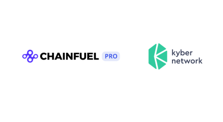Chainfuel integrates KyberWidget to accept crypto payment for Telegram manager app