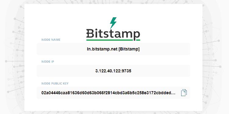Lightning Network Bitstamp