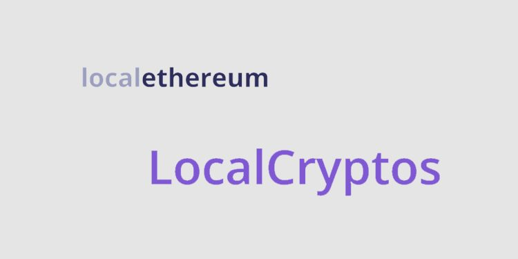LocalEthereum P2P exchange re-brands to LocalCryptos to support bitcoin (BTC)