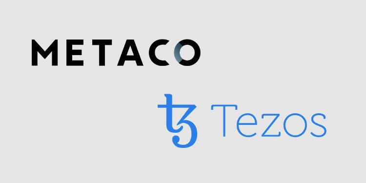 Crypto infrastructure platform METACO integrates Tezos (XTZ) staking functionality