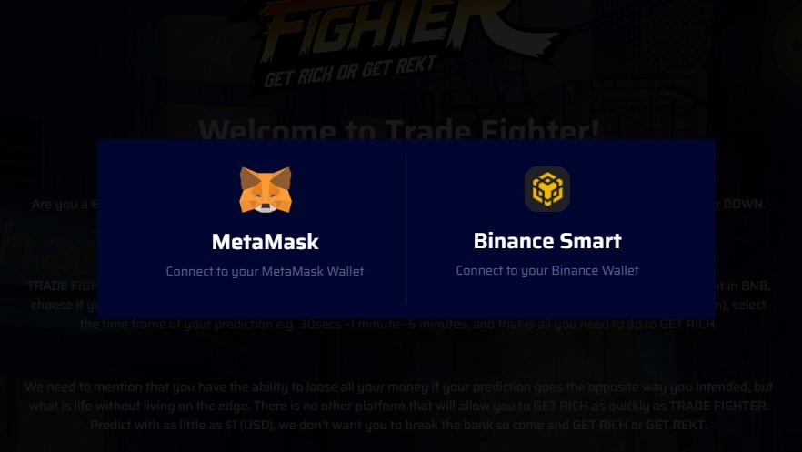 Trade Fighter: A new user-friendly crypto price prediction dApp built on Binance Smart Chain