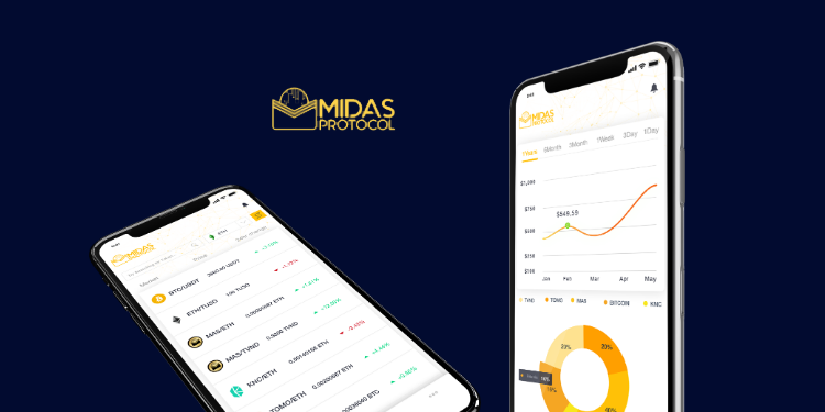 Midas wallet now supports ATOM, ZEC, DOGE, and PEG; adds new exchanges