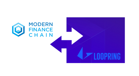 Modern Finance Chain to integrate Loopring token