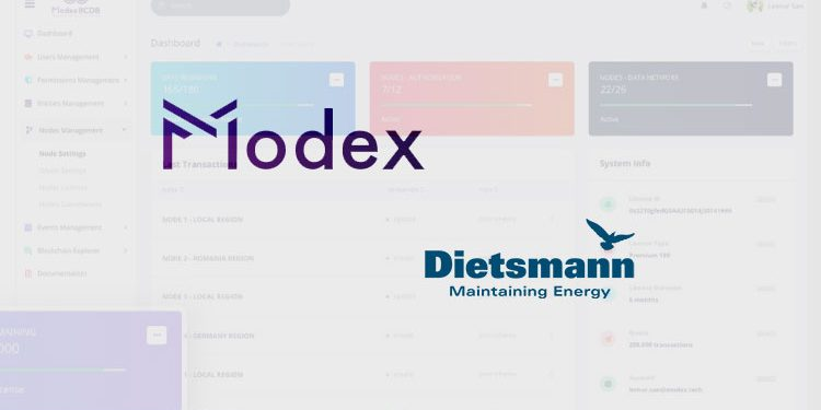 Oil and gas giant Dietsmann deploys Modex Blockchain Database (BCDB) platform