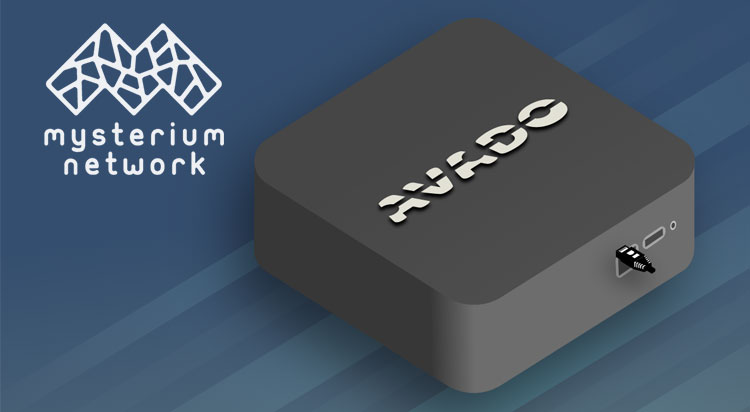 Decentralized VPN Mysterium now available on AVADO node device
