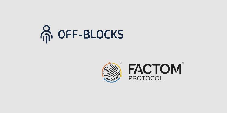 Off-Blocks launches eSignature platform on the Factom blockchain