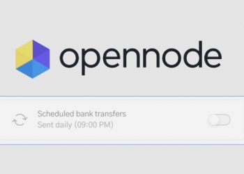 Bitcoin payment processor OpenNode sets up recurring bank account transfers