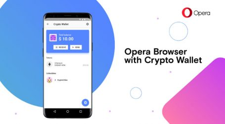 Opera web browser almost ready to ship with native cryptocurrency wallet