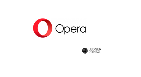 Ledger Capital partners with Opera grow its blockchain technology initiative