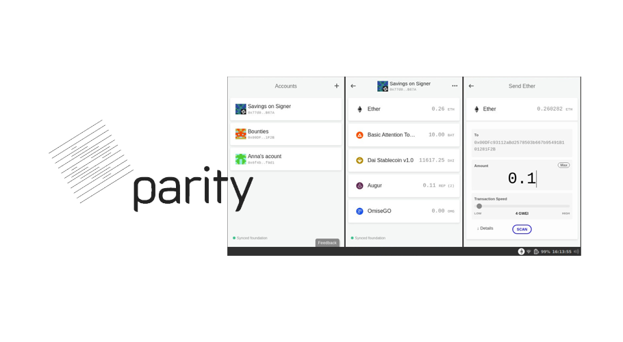 Parity Fether desktop wallet now available on Ethereum mainnet