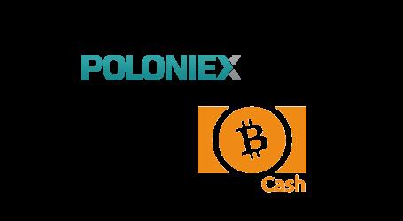Poloniex announces pre-fork trading of Bitcoin Cash (BCH) tokens