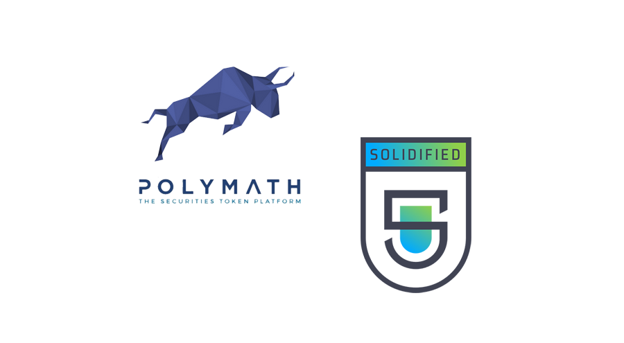 Solidified joins token sale platform Polymath as official auditor