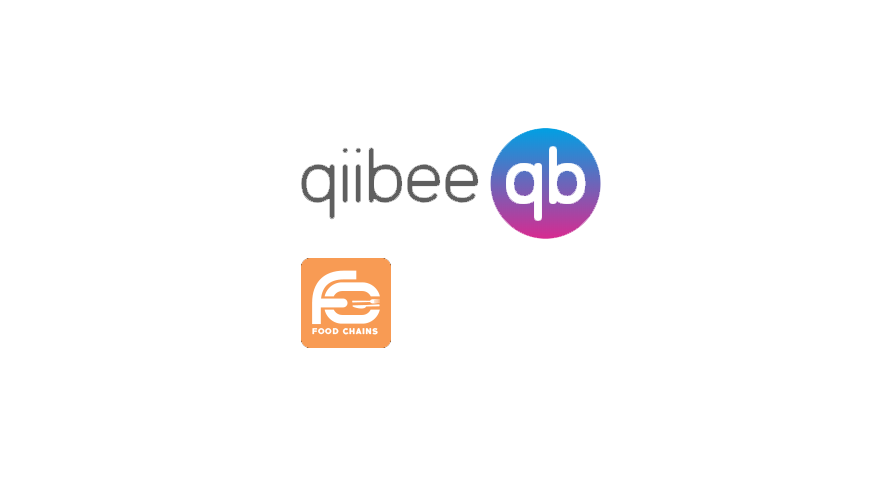 Restaurant loyalty program foodchains partners with blockchain loyalty protocol qiibee