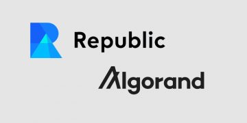 Fundraising platform Republic looks to Algorand's blockchain to build new security token