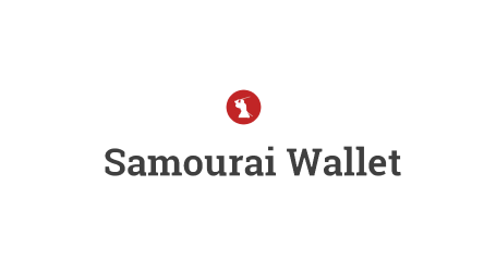 Samourai bitcoin wallet enhances interface and fee management options