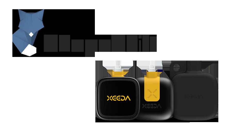 XEEDA smartphone hardware wallet app partners ShapeShift