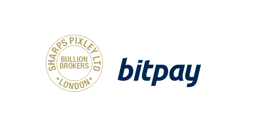 Sharps Pixley enables gold conversion into bitcoin with BitPay