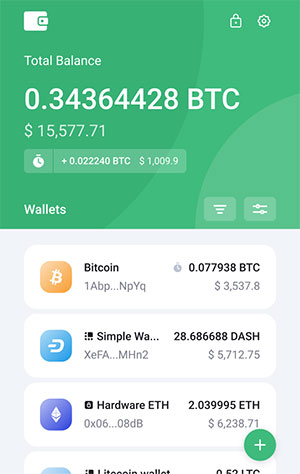 SimpleHold: Light crypto wallet available on 4 browsers with user-friendly features