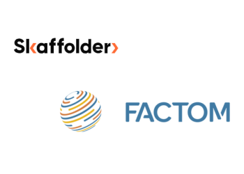 Skaffolder partners with Factom for blockchain application development