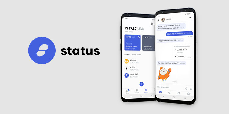 status cryptocurrency wallet