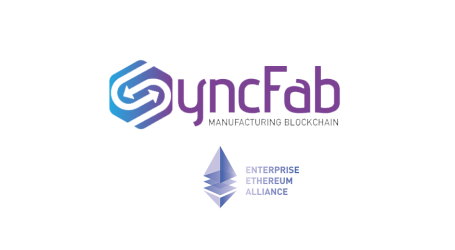 Blockchain for manufacturing SyncFab joins Enterprise Ethereum Alliance
