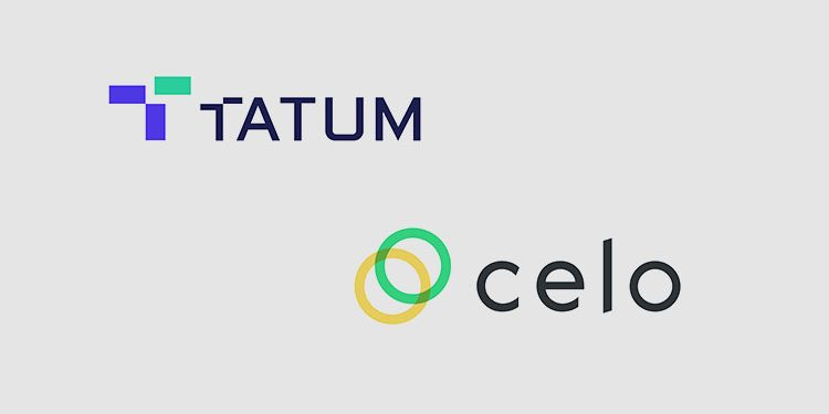 Blockchain middleware platform Tatum adds support for CELO, cEUR, and cUSD