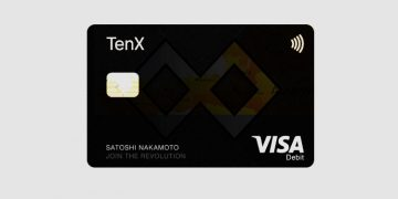 TenX crypto Visa debit card now available in Germany and Austria