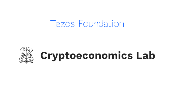 Tezos Cryptoeconomics Lab