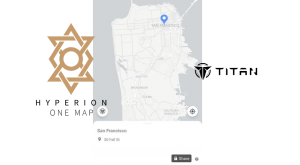 Hyperion launches cryptographic navigation function on Titan map application