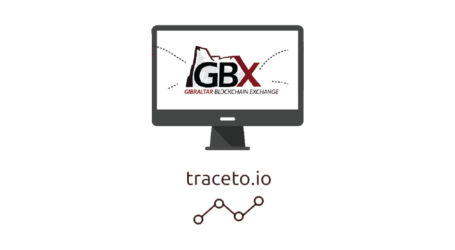 Traceto.io the first approved token sale on Gibraltar Blockchain Exchange