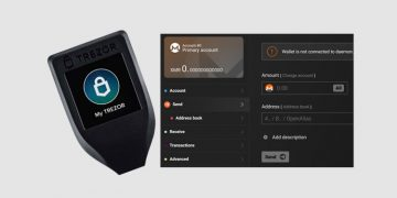 Trezor Model T crypto hardware wallet now supported on Monero client