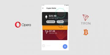 TRON Bitcoin Opera Android