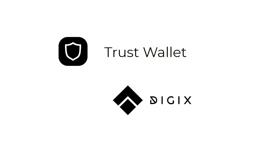Digix partners with Trust Wallet to launch token trackers