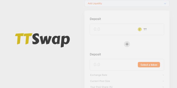 ThunderCore blockchain DEX TTSwap is now open source