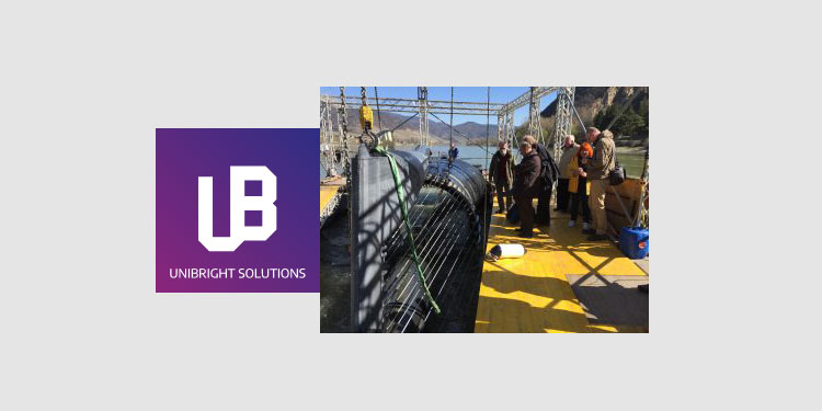 Unibright and German startup pilot renewable energy from decentralized hydroelectric power plants
