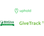 Crypto donation platform GiveTrack by BitGive now live on Uphold