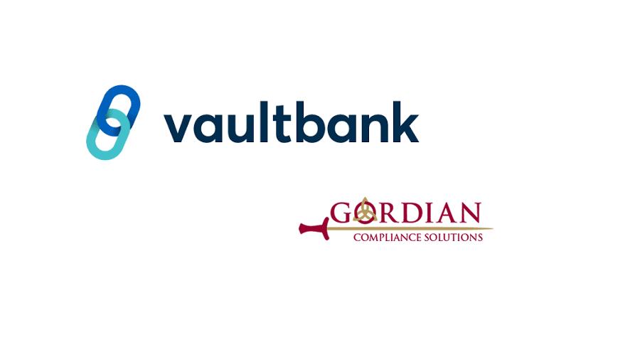 Vaultbank partners with Gordian for compliant securities token exchange