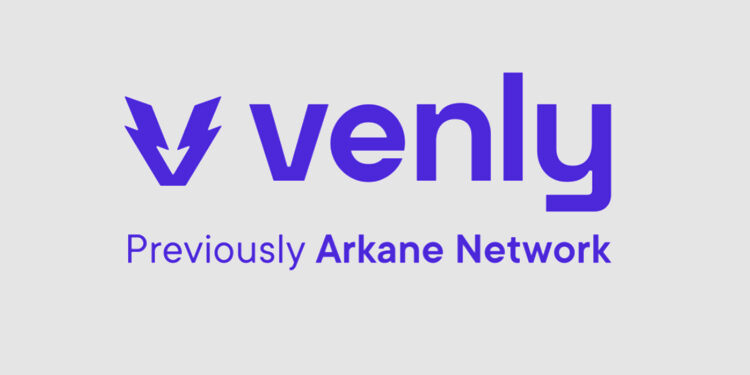 NFT wallet and marketplace provider Arkane Network rebrands to Venly