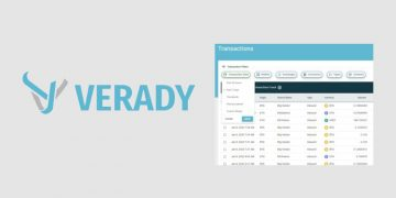 Crypto accounting software Verady enhances transactions table interface