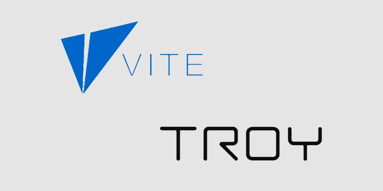 Vite joins with TROY to improve decentralized crypto trading