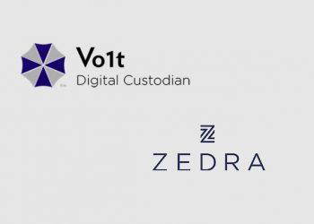 Crypto asset custodian Vo1t forms new partnership with ZEDRA