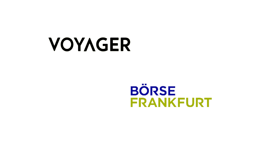Crypto asset broker Voyager now listed on the Frankfurt Stock Exchange