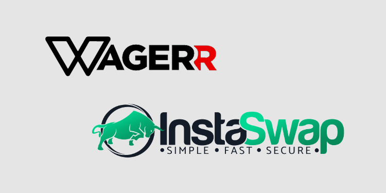 Blockchain sportsbook Waggerr enables token exchange with InstaSwap