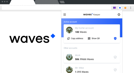 Waves blockchain platform launches new browser extension tool