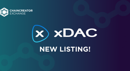 A new listing on the CHAINCREATOR Exchange – xDAC