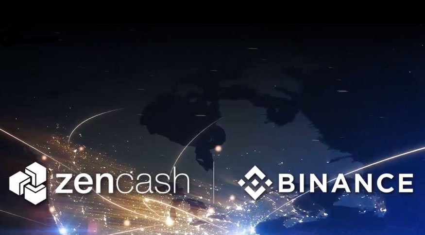 ZenCash now tradable on Asian exchange Binance